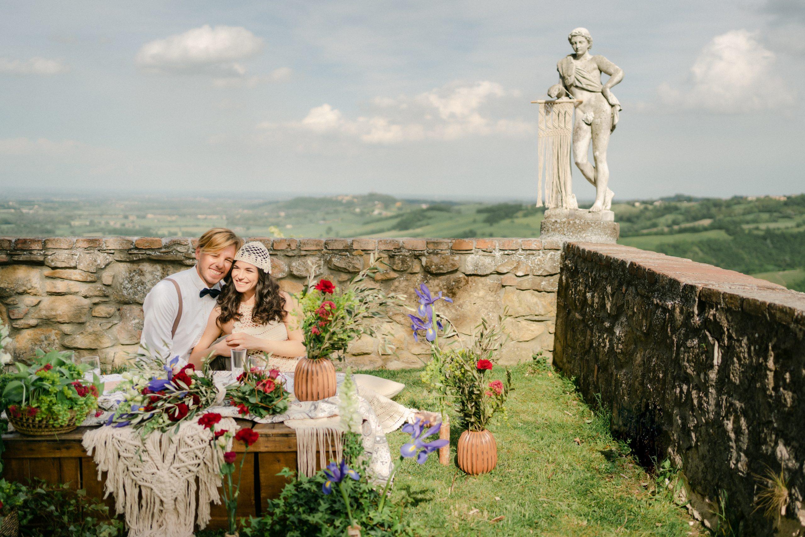 matrimonio bohochic